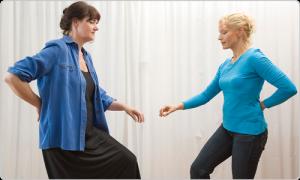 Äußere und innere Balance